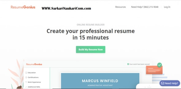 best online cv maker free